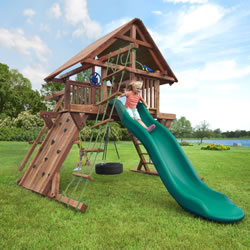m-wood swing set