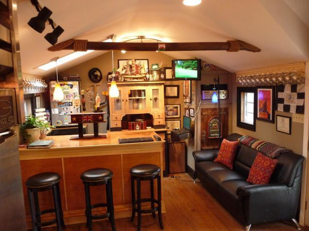 Building A Man Cave Bar : Top man cave sheds across the world heartland