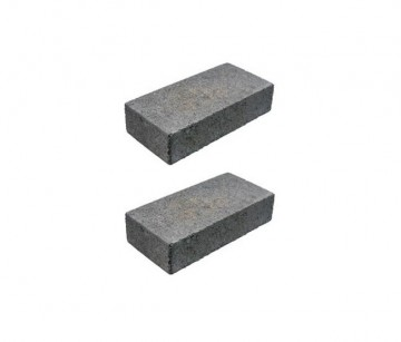 Concrete leveling blocks.