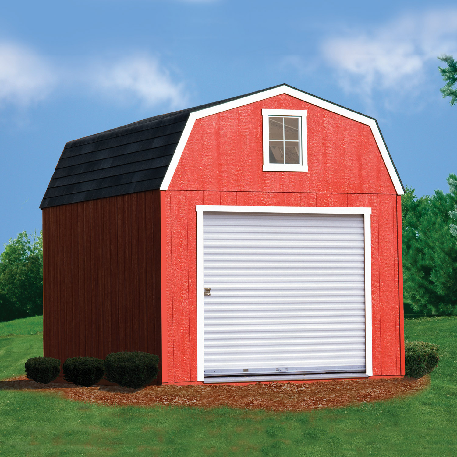 10x12 Shed With Roll Up Door Cedarburg Wi 10x15 Barn With