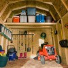 Includes storage loft, vents, window & floor decking.