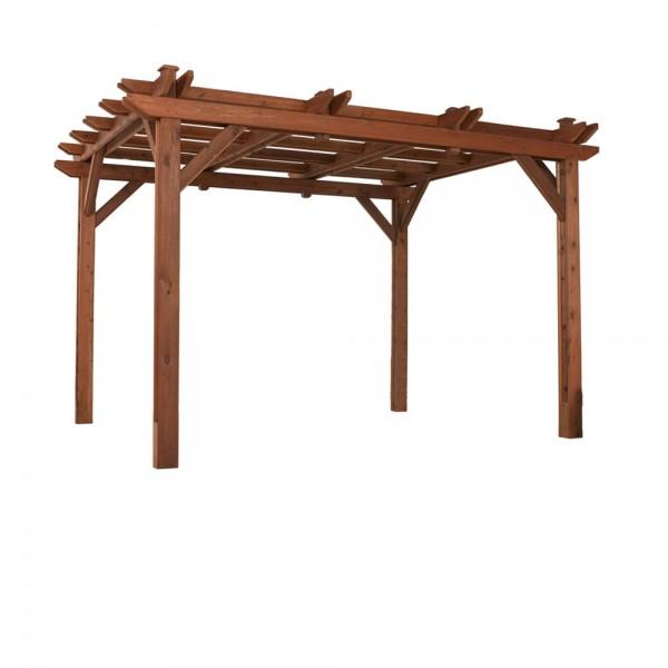 Pergola constructed with 100% cedar.