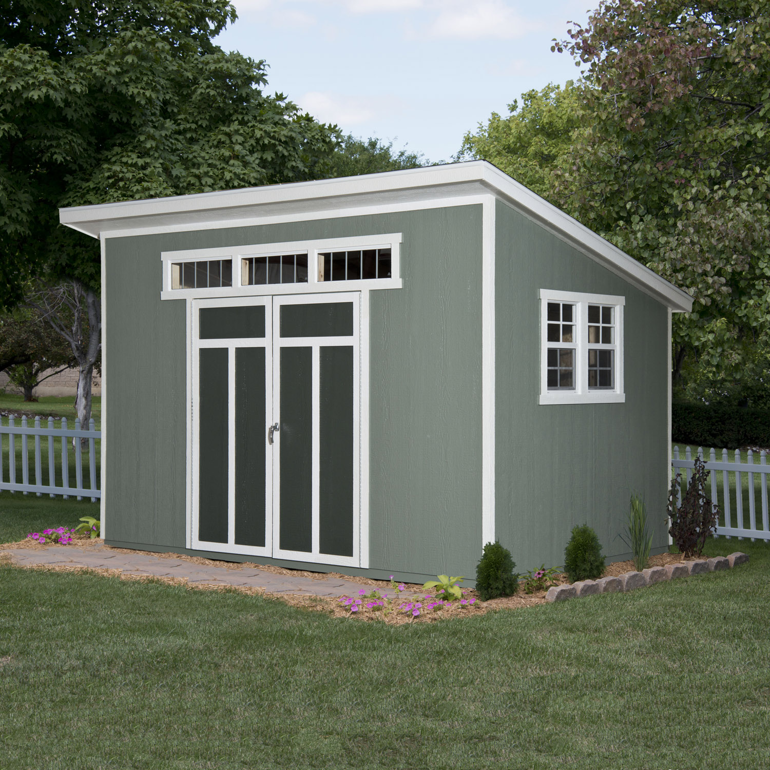 Metropolitan 12ft X 7 Ft 6in on lean to sheds lowes