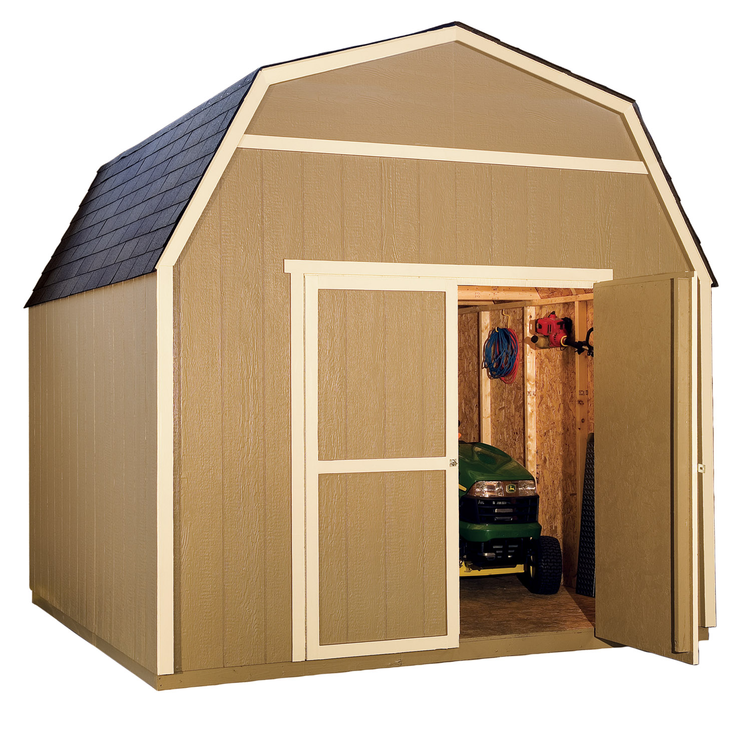 Menards Storage Shed Storage Shed Kit Diy Hardware Building Outdoor Wood Shed Doors Lowes