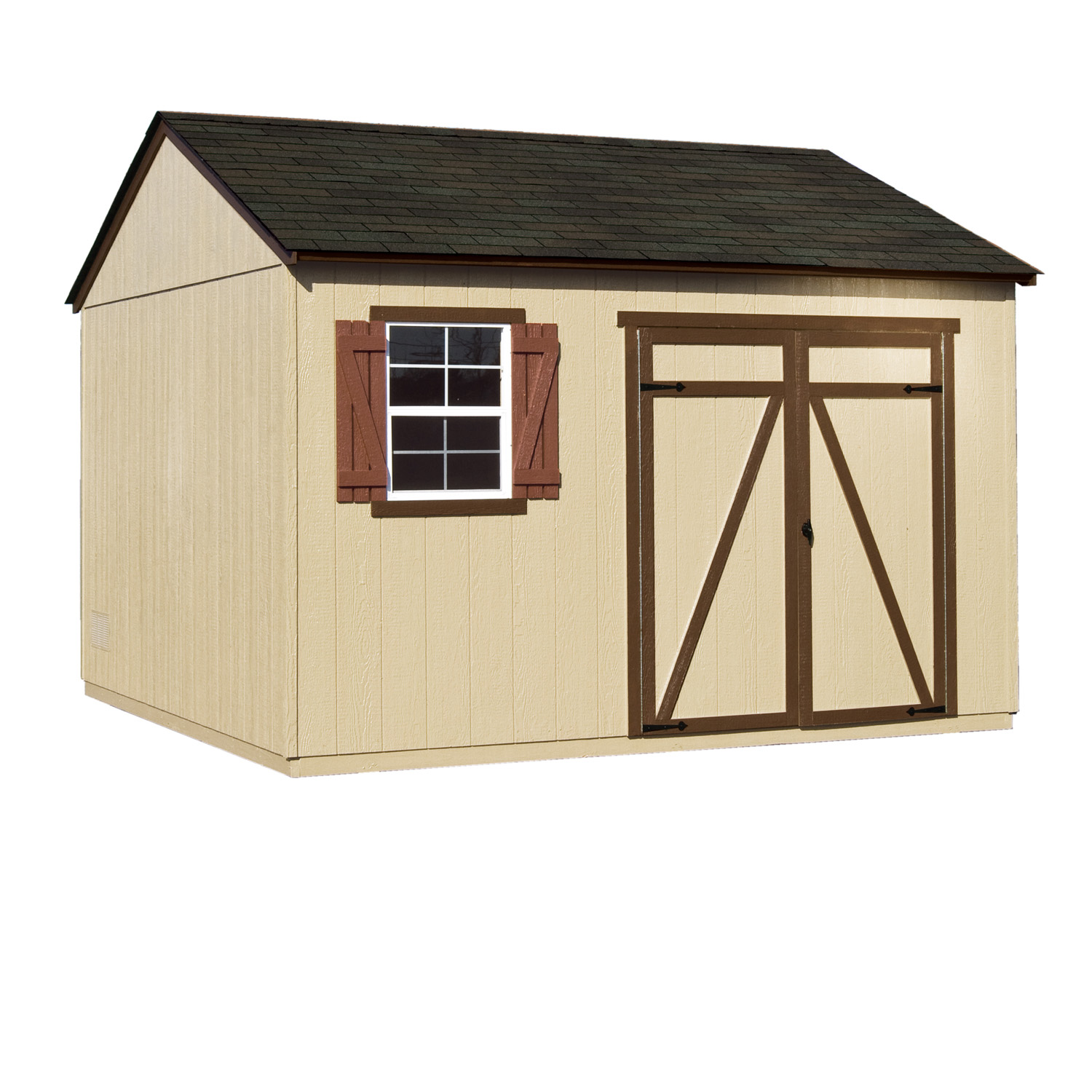 Gentry 12ft x 12ft heartland industries for Heartland sheds