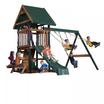 commanders quarters backyard swing set kids