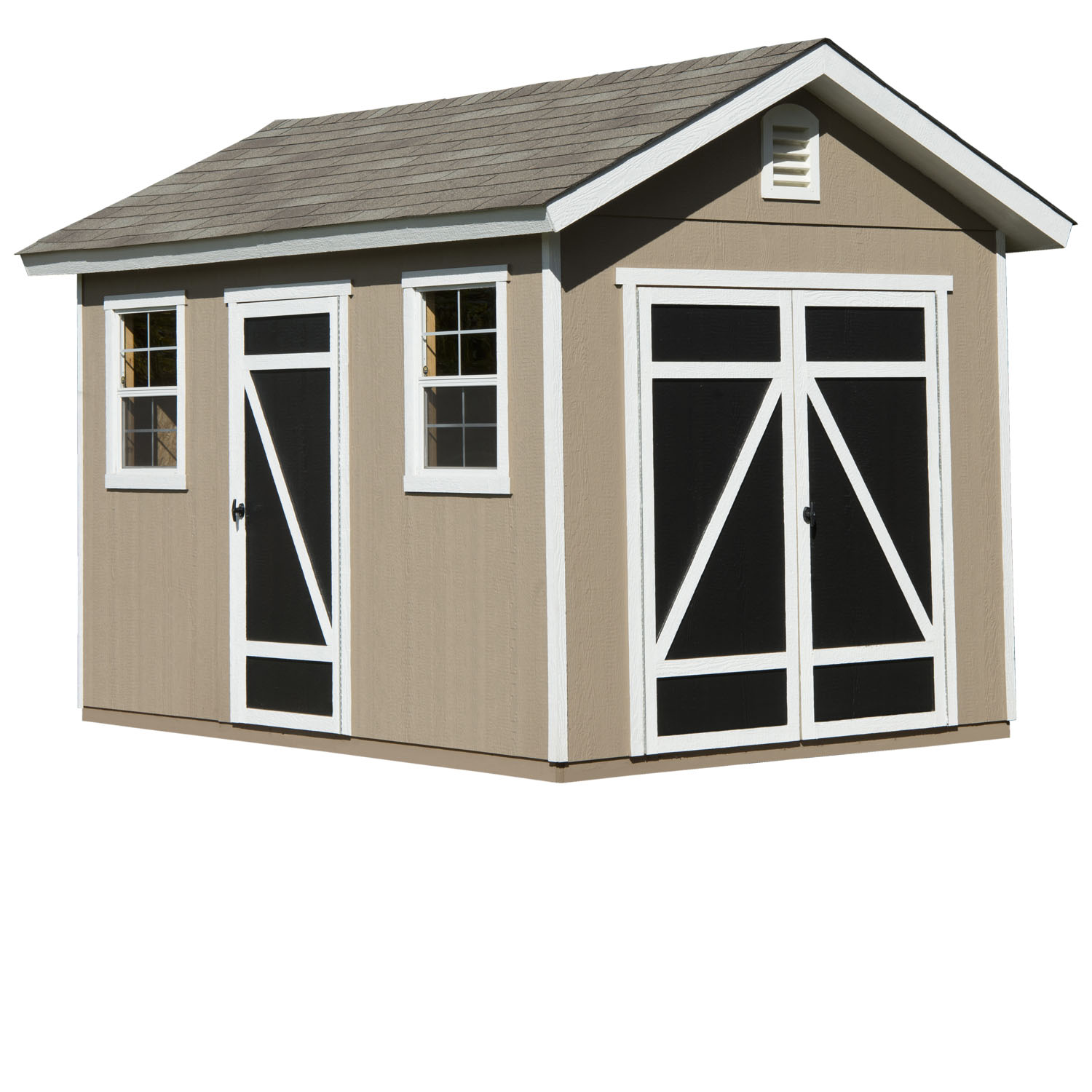 Hillsdale 8ft x 12ft heartland industries for 12x8 shed with side door