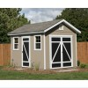 8-ft. x 12-ft. Hillsdale shed shown.