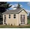 10-ft. x 12-ft. Hillsdale shown with optional premium cupola.