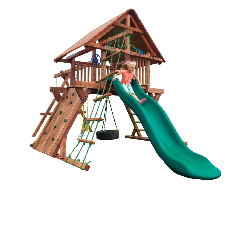 Adventure Filled Wood Swing Sets