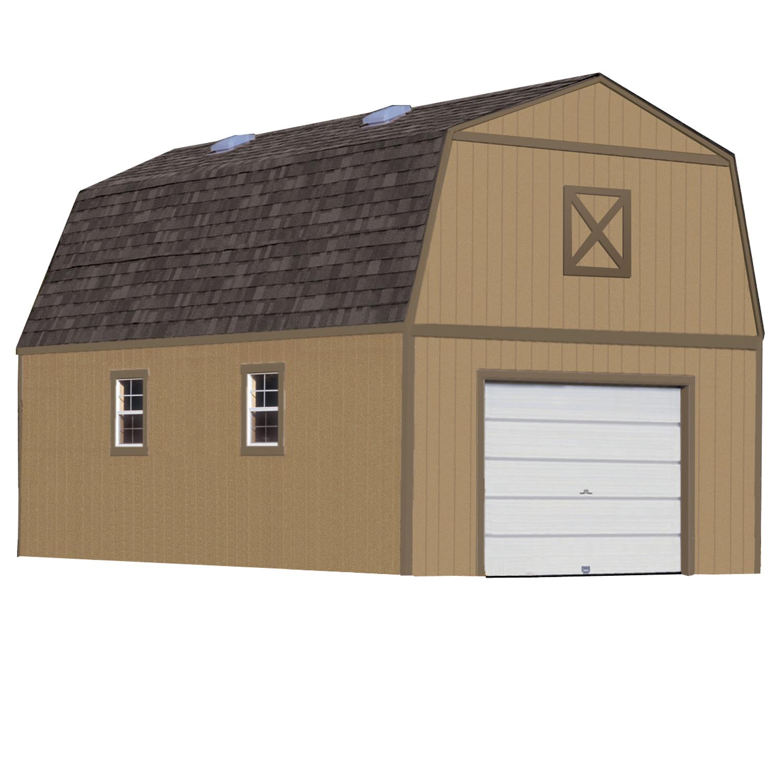 Summit 16ft. x 24ft. - Heartland Industries on 24' Garage Door  id=61404